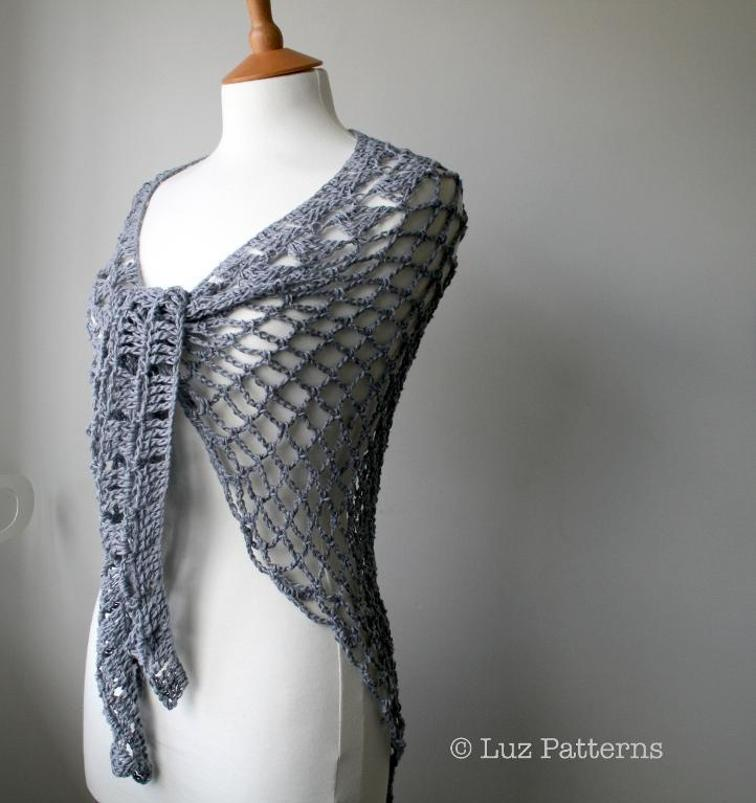 Summer Shawl Crochet Pattern Round Up Caitlins Contagious Creations