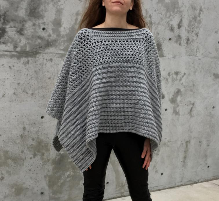 Fall Poncho Crochet Pattern Round Up Caitlins Contagious Creations