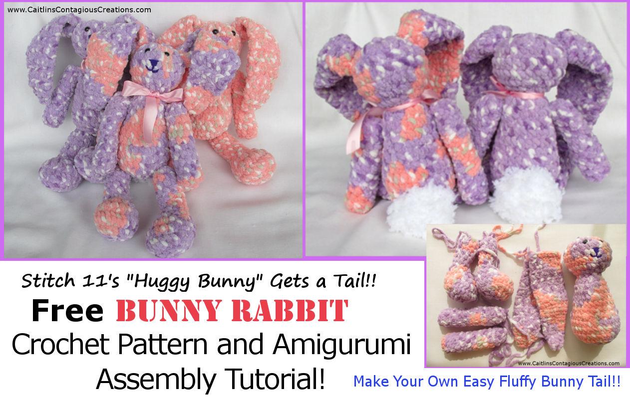 Free Crochet Pattern Bunny Amigurumi - thefriendlyredfox.com | 798x1262