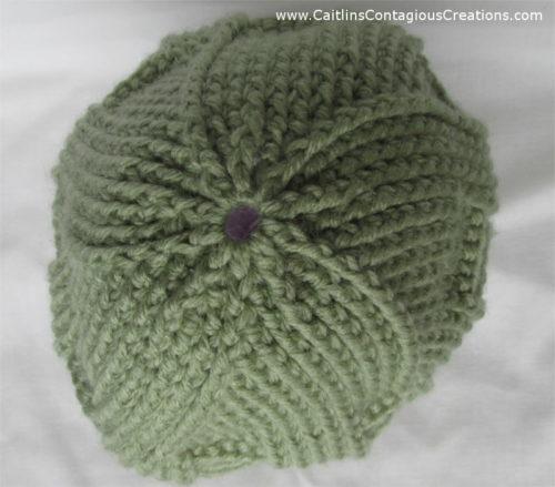 Spiral Star Basket Weave Beanie Crochet Pattern Caitlins