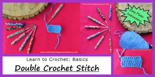 Crochet Stitch Guides Basics Archives Caitlins Contagious Creations