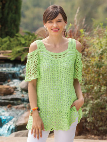 Summer Top Crochet Pattern Round Up Caitlins Contagious Creations