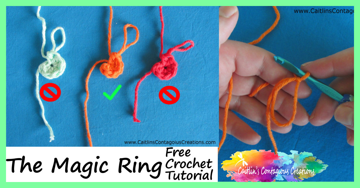 Crochet magic circle how to - if you have never used the magic ... | 628x1200