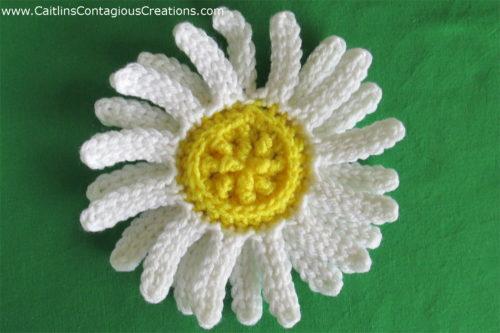 Exemple de modèle de crochet de marguerite